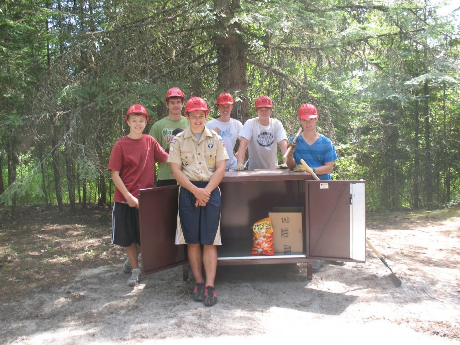 From 2012 Through 2014, The SCA Worked With Several Eagle Scout Candidates  And Boy Scout Troops To Install 16 Bear Proof Food Storage Lockers In State  And ...