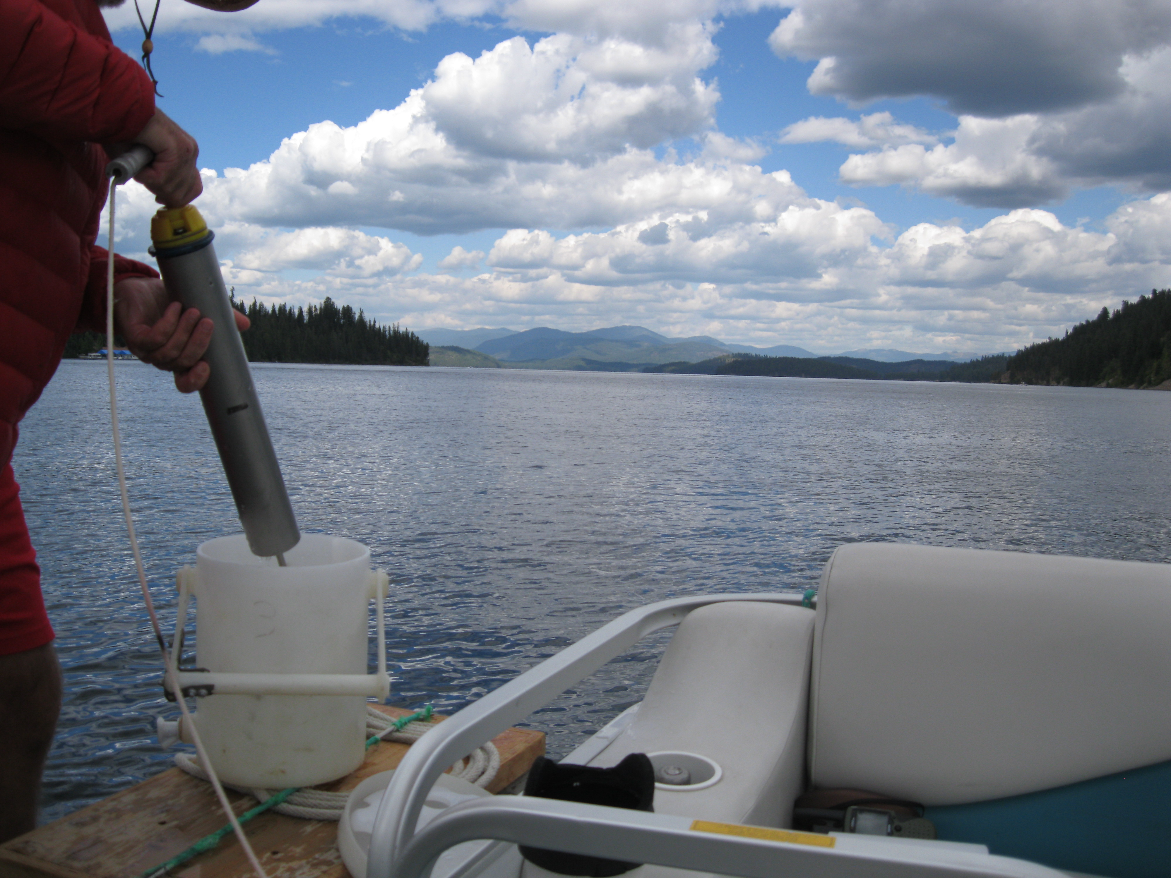 Priest Lake Water Quality Monitoring